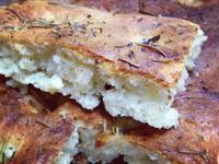 義大利迷迭香佛卡夏麵包 --【泰山橄欖油】