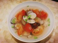 【番茄蛤蜊蔬菜湯】
