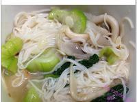 [水炒式]絲瓜麻油麵線