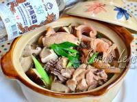 【金門高粱飄香料理】螺肉魷魚燉雞湯