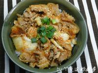 ㄚ曼達的廚房~黃金泡菜豬肉蓋飯