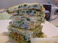 拉比尼亞廚房~魩仔魚韮菜煎餅
