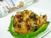 【金門高粱飄香料理】豉汁燒雞