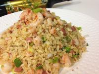 黃金蝦仁火腿炒飯-泰山橄欖油