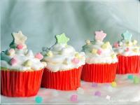 棉花糖杯子蛋糕♥【飛利浦智慧萬用鍋】