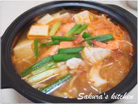 ♥我的手作料理♥泡菜豆腐鍋