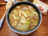 2步驟♥咖哩時蔬年糕湯-牛頭牌咖哩塊