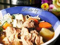 牛肉燉豆腐「飛利浦智慧萬用鍋」