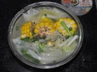 豬骨高湯的做法(示範:蔬菜湯)