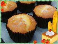 溼潤鬆軟的《柳橙萊姆杯子蛋糕》
