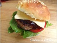 ♥我的手作料理♥美式漢堡