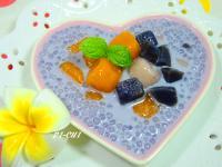 芋圓紫薯椰奶西米露