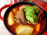 川霸子蘿蔔燉牛肉  【富發行創意料理】