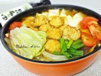 健康低脂雞肉丸子鍋~時間淬釀的甘露之味