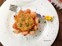 明太子魚香腸烤飯盅