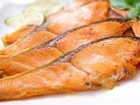 ♥ 香煎鮭魚切片 ♥