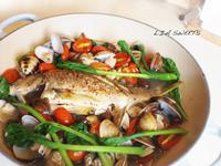 法式蒸煮魚