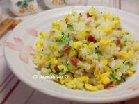 培根翡翠蛋炒飯