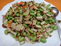 碧玉毛豆炒豆干