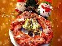 聖誕紅花圈