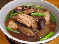 【粉豬兒】滷香菇冬瓜豆腐