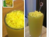 金黃晶鑽芒果冰沙