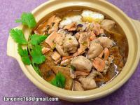 鹹鮭雞粒油豆腐煲  (EZ砂鍋菜5)