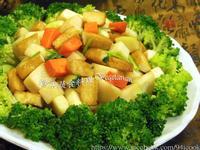 ♥憶柔蔬食♥口感波棒快炒醃大頭菜