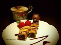 伯爵紅茶紅豆捲餅【味蕾周記】