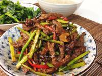 十分鐘上菜-豆豉香辣蘆筍牛柳