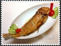 「年年有餘」乾煎馬頭魚