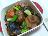 lanni  紅燒香菇雞