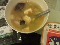 味增鮮魚豆腐湯