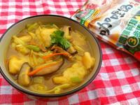 咖哩風味麵疙瘩【可果美咖哩鍋高湯】