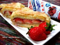 草莓煉奶起酥蛋糕 [草莓就愛鷹牌煉奶]