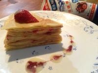 法式千層派~苺果煉乳三重奏<草莓就愛鷹牌煉奶>