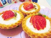 草莓乳酪塔-草莓就愛鷹牌煉奶