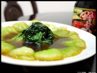 穀盛壽喜燒燴青江菜