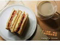 手工漢堡肉排三明治