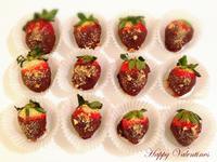 情人節 草莓裹巧克力的幸福滋味!