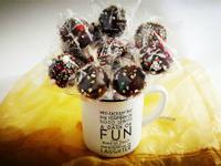 情人節系列: 巧克力棒棒糖