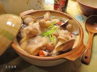 巴西蘑菇燉雞湯。穀盛壽喜燒