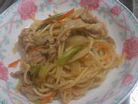 日式醬汁炒麵