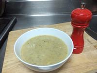 櫛瓜香菇濃湯(不加鮮奶油)
