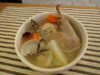 有心食譜:蛤蜊結頭菜雞湯