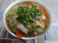 白菜滷(蛋酥+肉羹版)