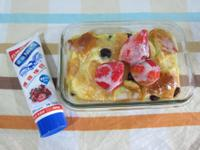 草莓烤英式布丁麵包-草莓就愛鷹牌煉奶