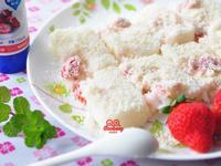 草莓雪花糕【草莓就愛鷹牌煉奶】