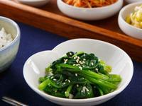 韓式小菜》涼拌菠菜
