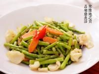 【陶鍋料理】百合炒蘆筍